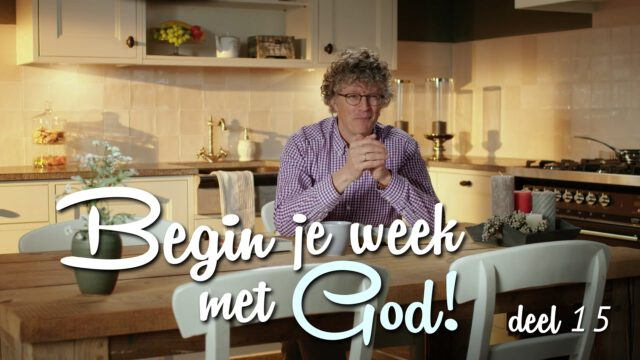 Begin je week met God! – 'Omwegen'