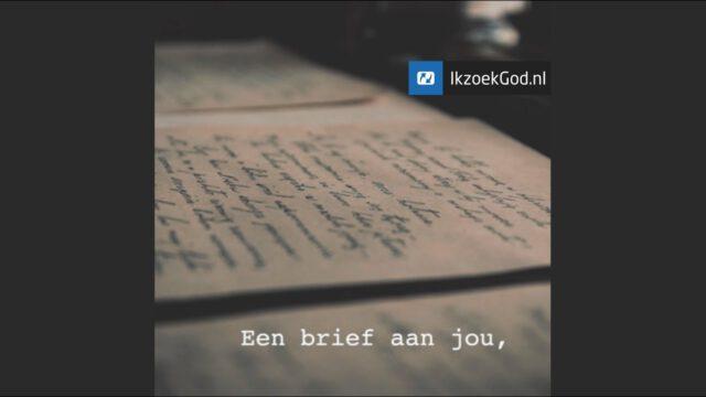 Een brief van God aan jou!
