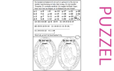 Puzzel – Klaagliederen 1 – schaamte en verdriet volk, gebed Jeremia
