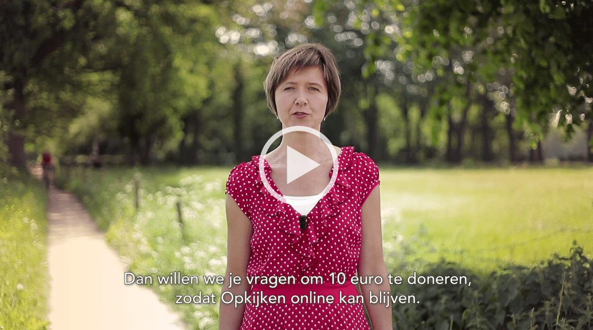Help mee Opkijken.nl online te houden!
