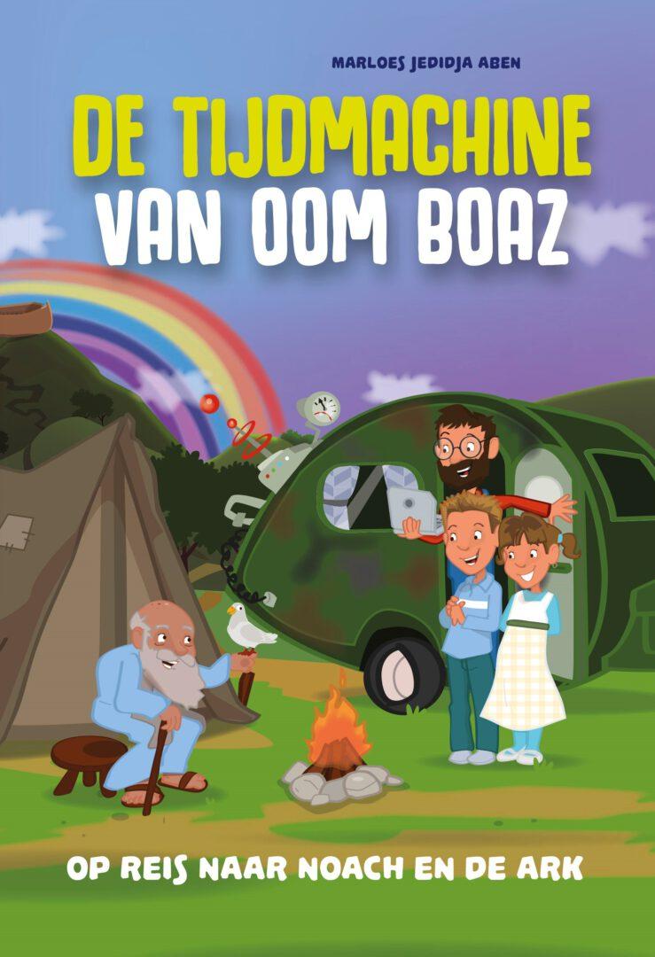 Boekrecensie en winactie: De tijdmachine van oom Boaz