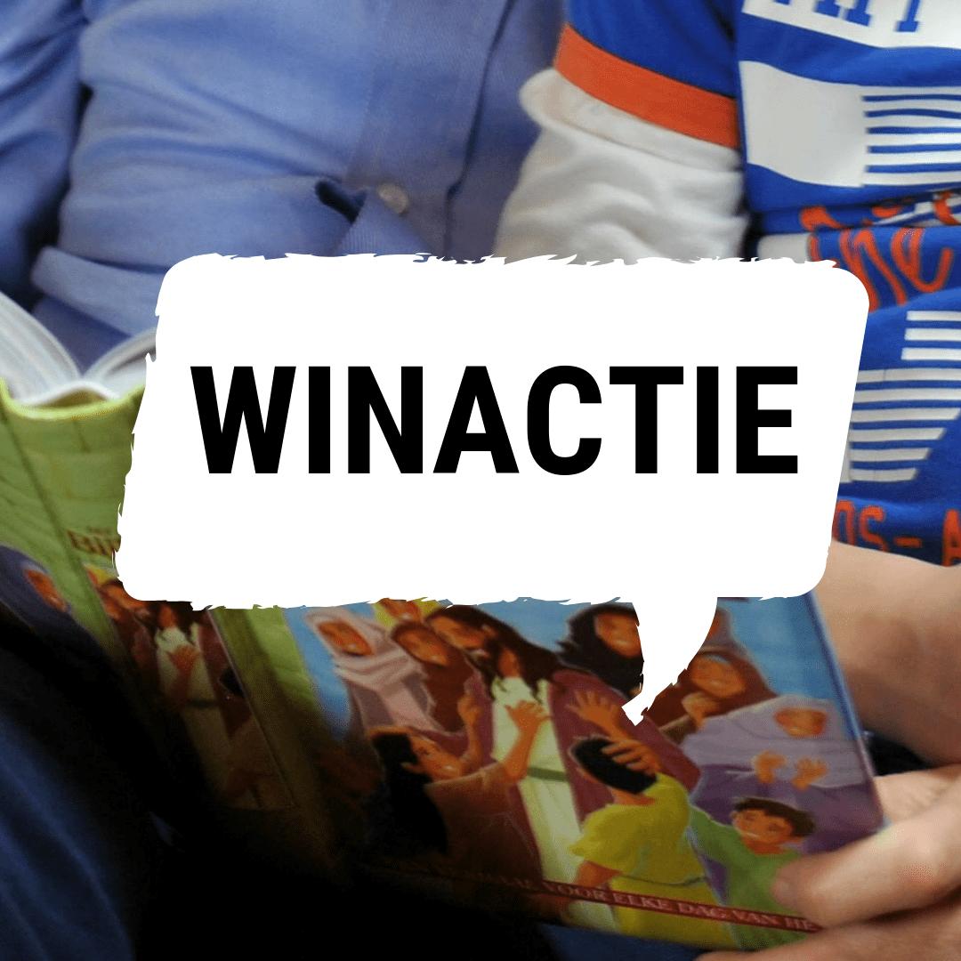 Win een kinderbijbel naar keuze!