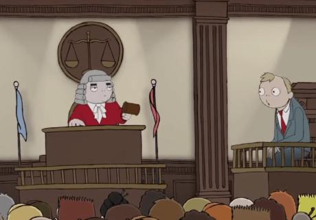 De rechter en zijn vriend