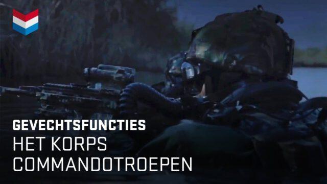 Het Korps Commandotroepen | Werken bij Defensie