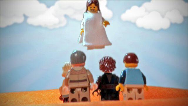 Hemelvaart uitgelegd met LEGO