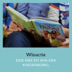 Win een kinderbijbel voor iemand met een verstandelijke beperking