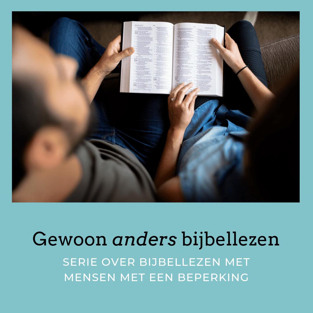 Gewoon anders bijbellezen
